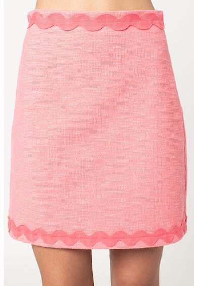 Pinko Fusta cu talie inalta si aspect texturat Prudente Femei