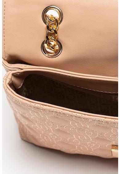 U.S. Polo Assn. Geanta plic de piele ecologica cu aplicatie logo Femei