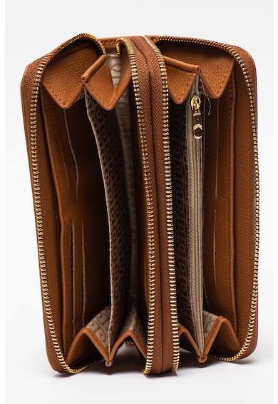 U.S. Polo Assn. Portofel de piele ecologica cu fermoar Femei