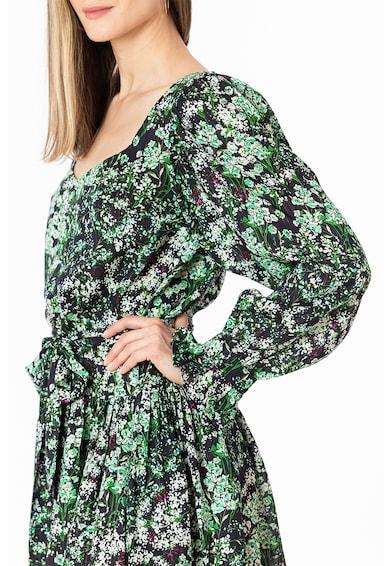 NAIV Clothing Rochie evazata cu imprimeu floral Femei