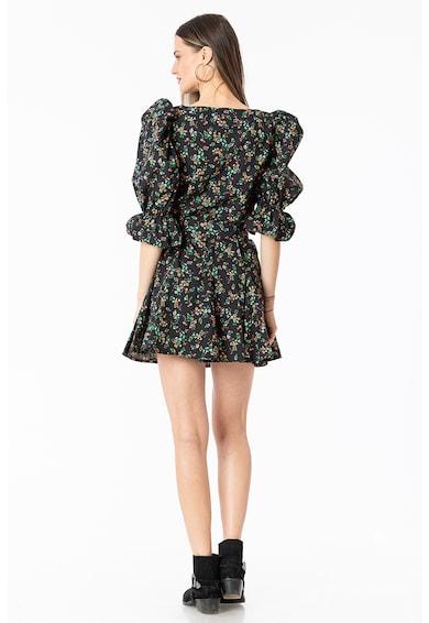 NAIV Clothing Rochie cu imprimeu floral si maneci bufante Femei