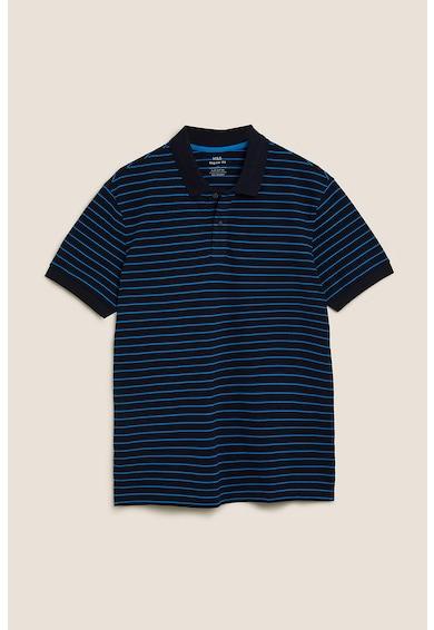 Marks & Spencer Tricou polo regular fit cu model in dungi '' Barbati