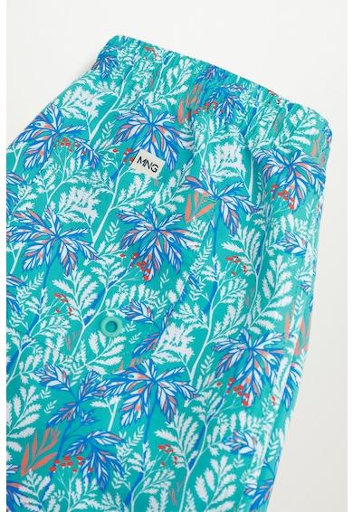 Mango Pantaloni scurti de baie cu imprimeu tropical Hawaii Baieti
