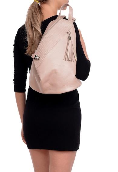 Isabella Rhea Rucsac de piele accesorizat cu canaf Femei