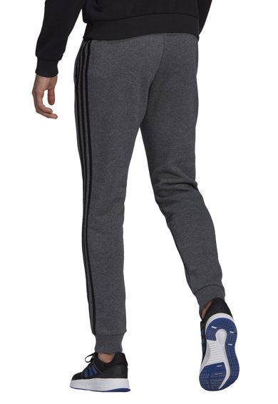 adidas Performance Pantaloni conici de fleece cu 3 dungi Essentials Barbati