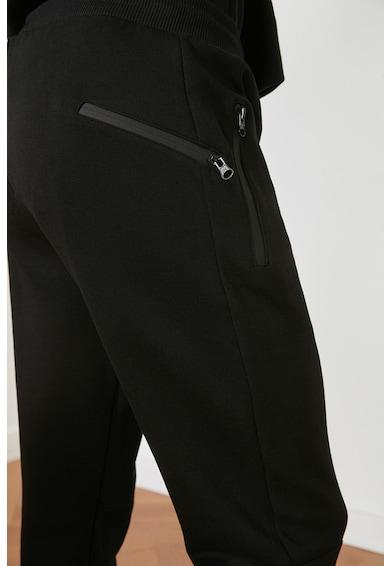 Trendyol Pantaloni sport de bumbac cu buzunare cu fermoar Barbati