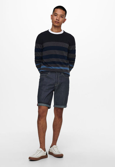 Only & Sons Pantaloni scurti regular fit din denim Barbati