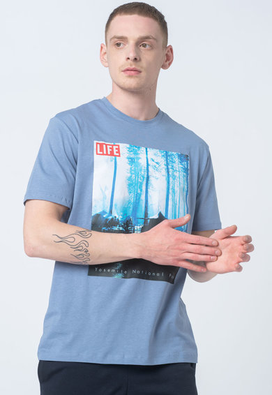 Only & Sons Tricou regular fit din bumbac organic Life Barbati