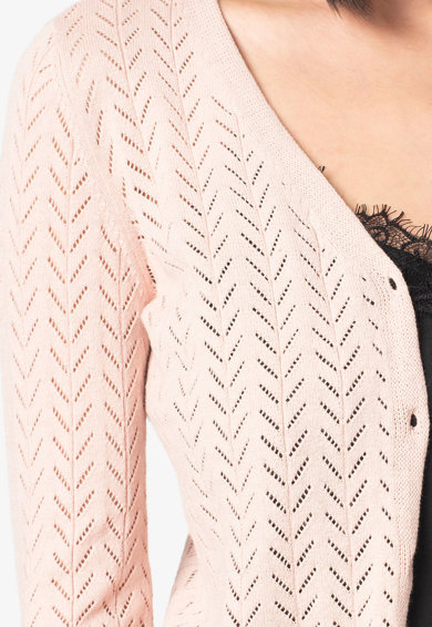 Vero Moda Cardigan cu model pointelle Caddie Femei