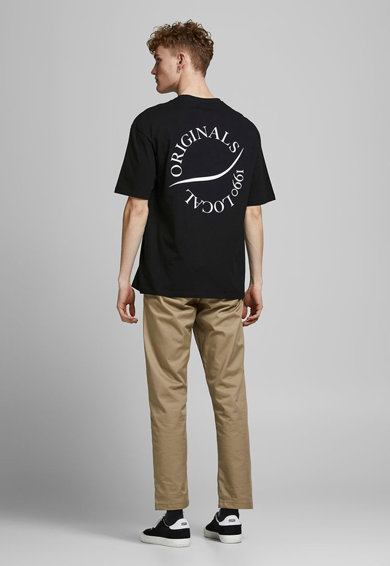 Jack&Jones Tricou cu imprimeu suradimensionat pe partea din spate Barbati