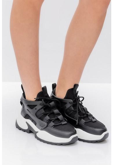 Il Passo Pantofi sport slip-on cu insertii de piele Elfrieda Femei