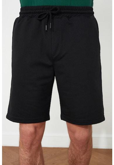 Trendyol Pantaloni scurti din amestec de bumbac cu snur Barbati