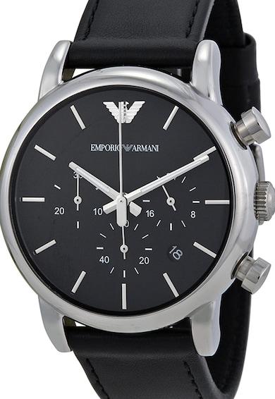 Emporio Armani Ceas cronograf negru Barbati