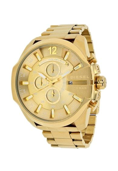 Diesel Златист часовник с хронограф Мъже