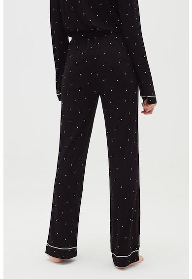 OVS Pantaloni de pijama cu imprimeu cu buline Femei