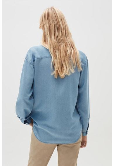 OVS Camasa din material chambray cu maneci lungi Femei