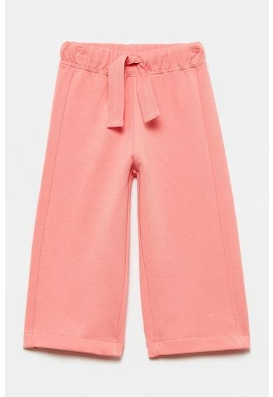 OVS Pantaloni cu croiala ampla si talie ajustabila Fete