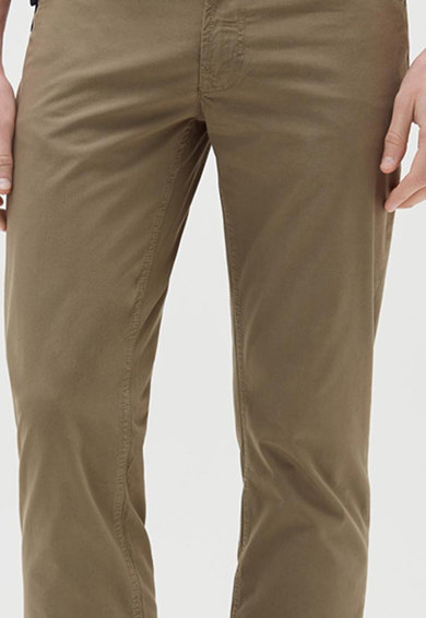 OVS Pantaloni din poplin cu model cu 5 buzunare Barbati