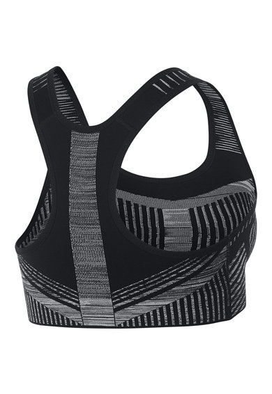 Nike Bustiera cu sustinere maxima si tehnologie Dri-Fit, pentru fitness FE/NOM Flyknit Femei