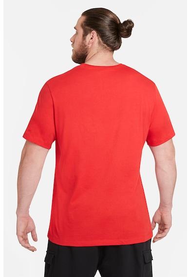 Nike Tricou de bumbac cu logo supradimensionat Icon Futura Barbati