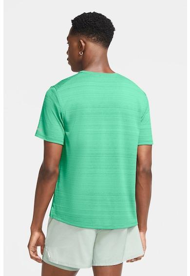 Nike Tricou cu decolteu la baza gatului, pentru alergare Miler Barbati