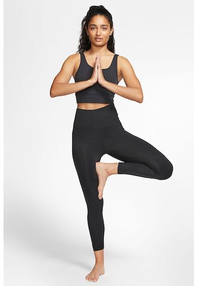 Nike Top crop cu decolteu amplu Yoga Luxe Femei