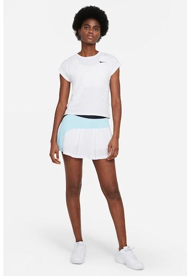 Nike Tricou slim fit cu maneci aripioara si tehnologie Dri-Fit, pentru tenis Victory Femei