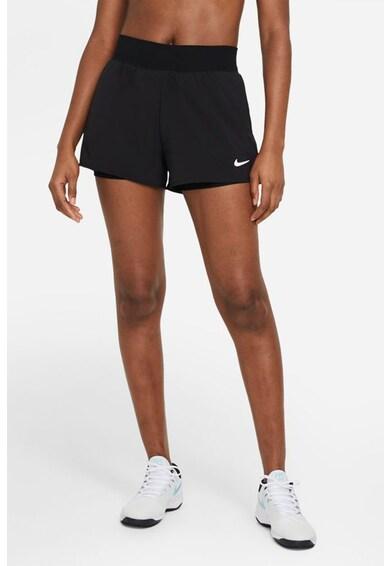 Nike Pantaloni scurti slim fit cu tehnologie Dri-Fit, pentru tenis Victory Femei