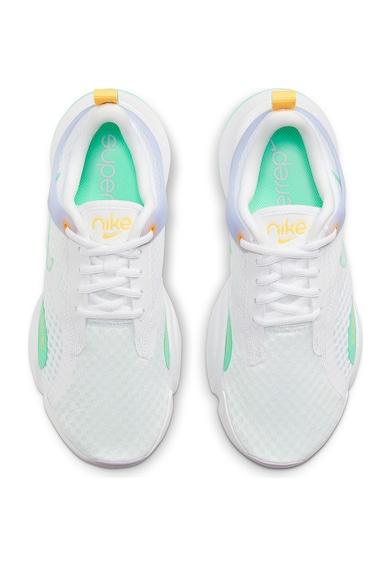 Nike Pantofi cu insertii din material textil, pentru fitness SuperRepGo 2 Femei