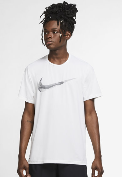 Nike Tricou cu tehnologie Dri-FIT pentru fitness Pro Graphic Barbati