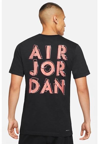 Nike Tricou cu decolteu la baza gatului si tehnologie Dri-Fit Jordan Air Barbati