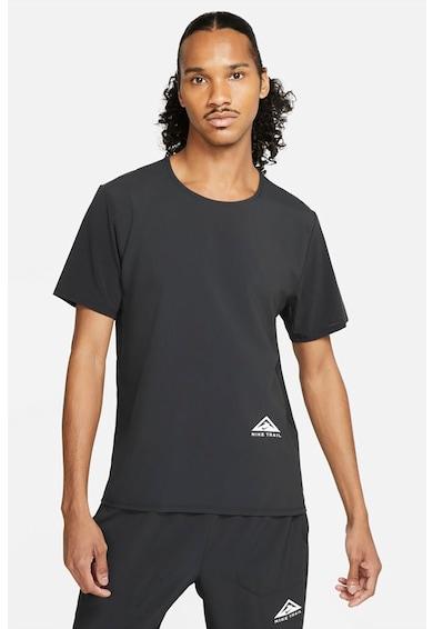 Nike Tricou cu tehnologie Dri-FIT, pentru alergare Rise 365 Trail Barbati