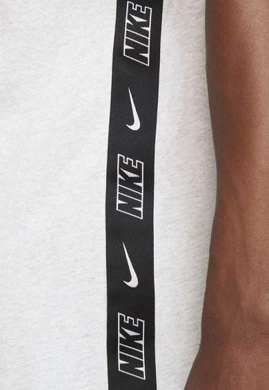 Nike Tricou cu decolteu la baza gatului si imprimeu logo Barbati