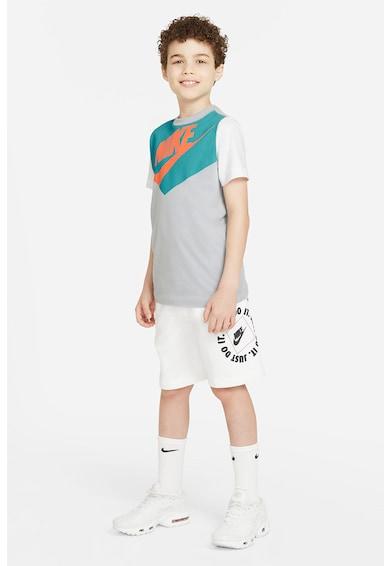 Nike Tricou cu logo Amplify Baieti