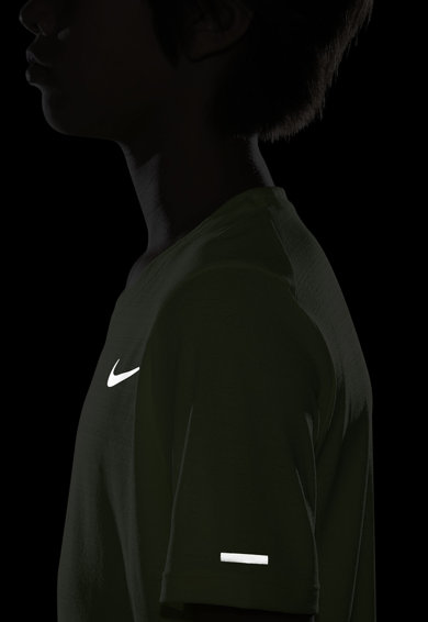 Nike Tricou cu tehnologie Dri-FIT Miler Baieti