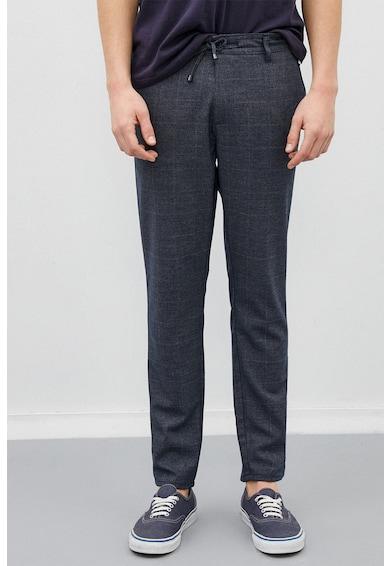 KOTON Pantaloni crop cu model in carouri Barbati