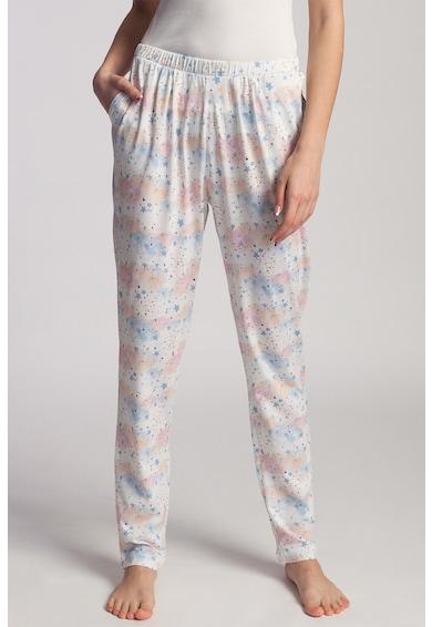 Sofiaman Pantaloni de pijama din amestec de modal Moonsky Femei