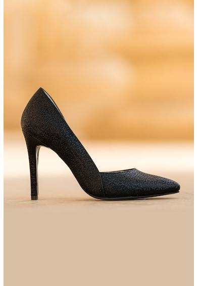 CONDUR by alexandru Pantofi de piele cu varf ascutit si aspect texturat Aime Femei