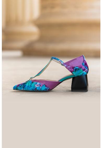 CONDUR by alexandru Pantofi de piele cu imprimeu floral Rania Femei