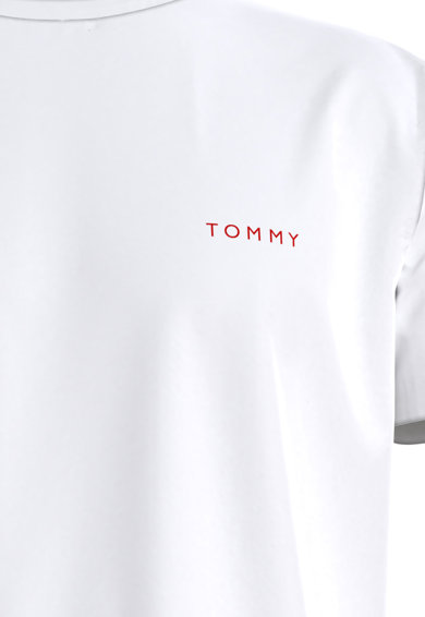 Tommy Hilfiger Tricou de casa din bumbac organic Barbati