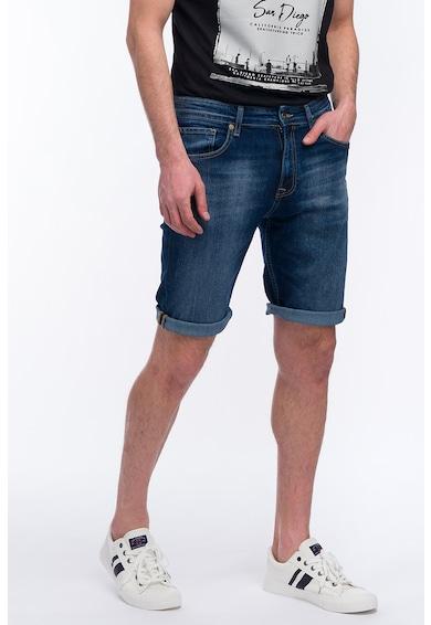 Kenvelo KVL, Pantaloni scurti drepti din denim Barbati