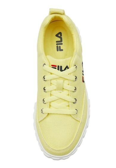 Fila Pantofi sport flatform cu broderie logo Sandblast Femei