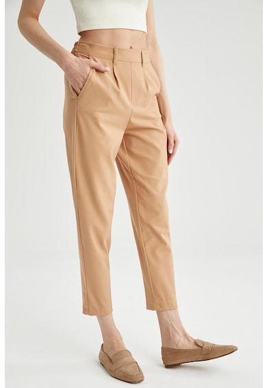 DeFacto Pantaloni conici cu talie elastica Femei