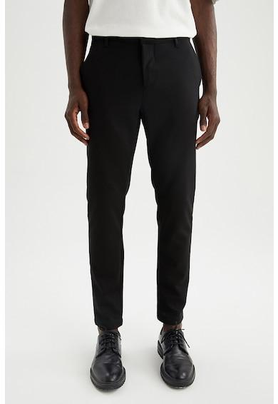 DeFacto Pantaloni chino crop Barbati