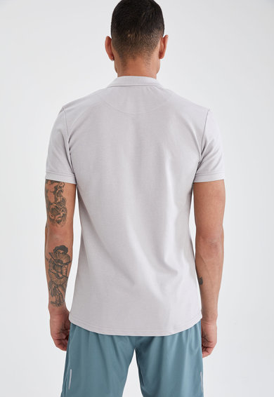 DeFacto Tricou polo slim fit Barbati