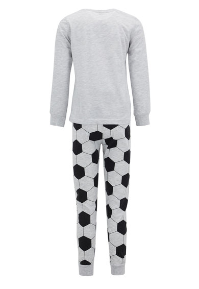 DeFacto Pijama din amestec de bumbac cu imprimeu Baieti