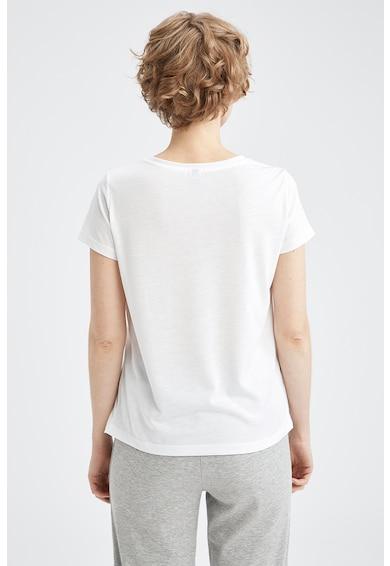 DeFacto Tricou relaxed fit cu imprimeu stralucitor Femei