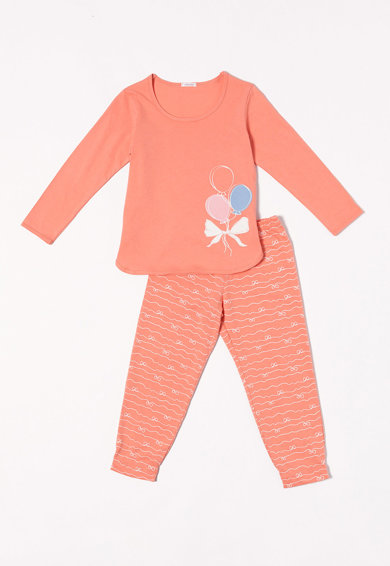 Sofiaman Pijama cu imprimeu grafic Gemma Fete