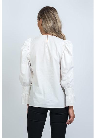 EMA\T Concept Bluza cu maneci bufante Road Map Femei