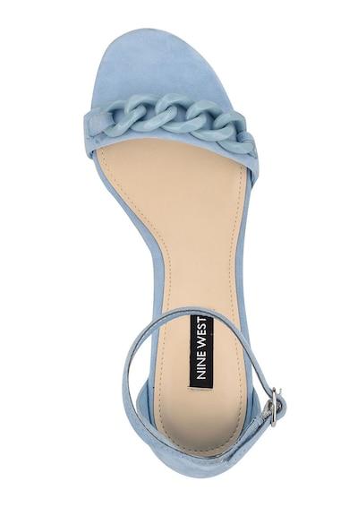 NINE WEST Sandale de piele intoarsa cu bareta separatoare Kimba Femei